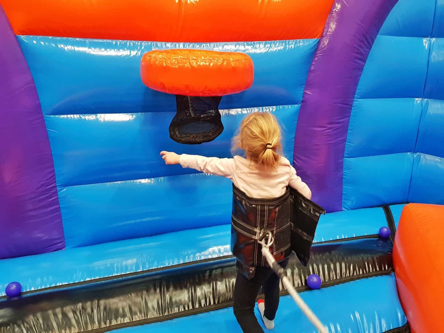Inflata Nation Birmingham girl on bungee game