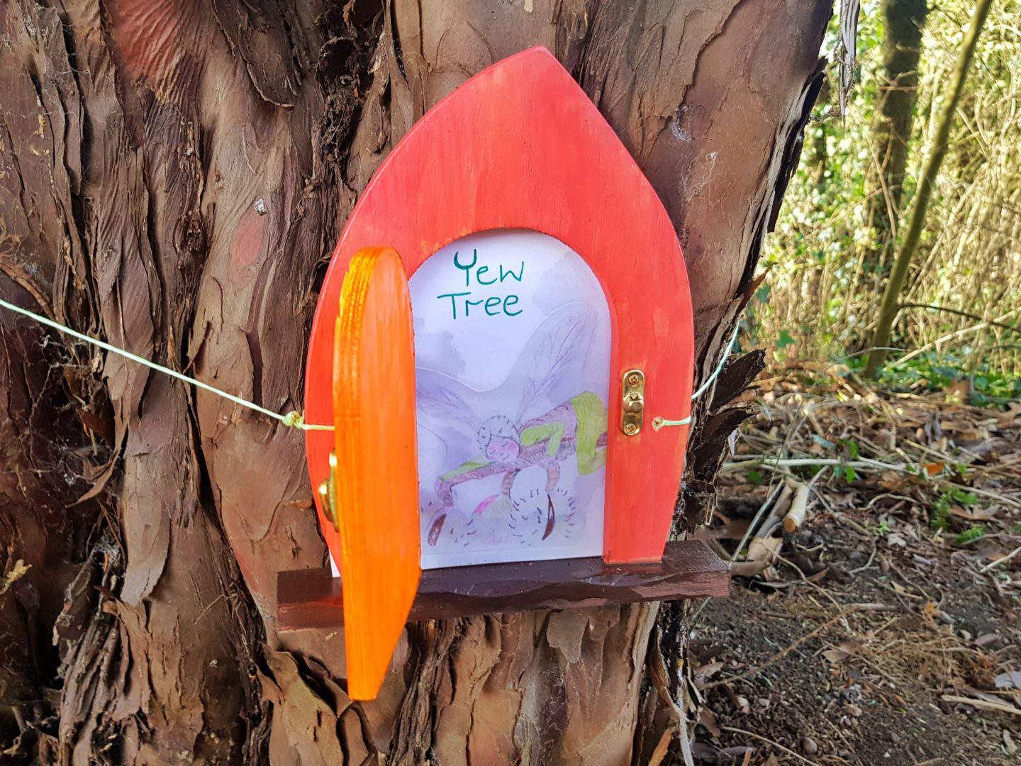 The Firs National Trust in Worcestershire fairy door