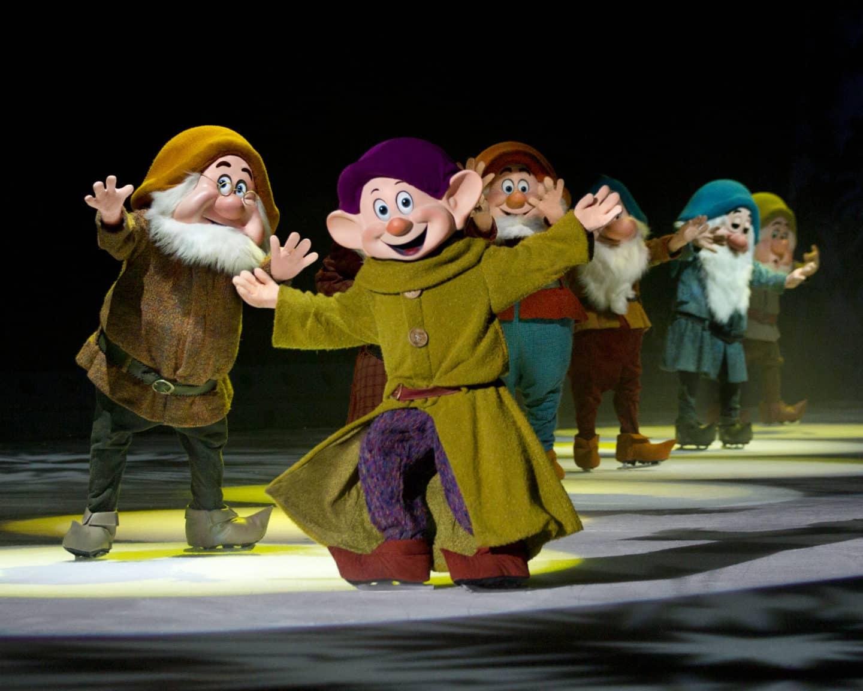 The Wonderful World of Disney on Ice Seven Dwarfs