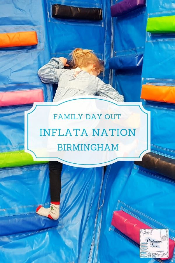 Inflata Nation Birmingham | If you're looking for an indoor family activity in Birmingham, Inflata Nation might just fit the bill. A huge room full of inflatables, it's great for families as well as catering for adults with fitness classes and parties. There's also a disabled friendly session. Ideal for indoor fun in the West Midlands. See what we thought of it in terms of safety and other features. #familyfun #birmingham #westmidlands #indoorfun