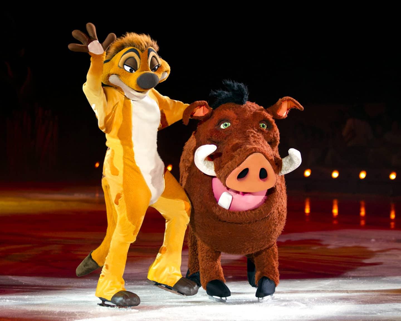 The Wonderful World of Disney on Ice Timon and Pumbaa