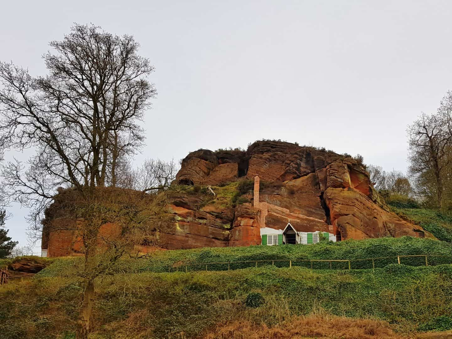 Dog friendly family day out at Kinver Edge and the Rock Houses