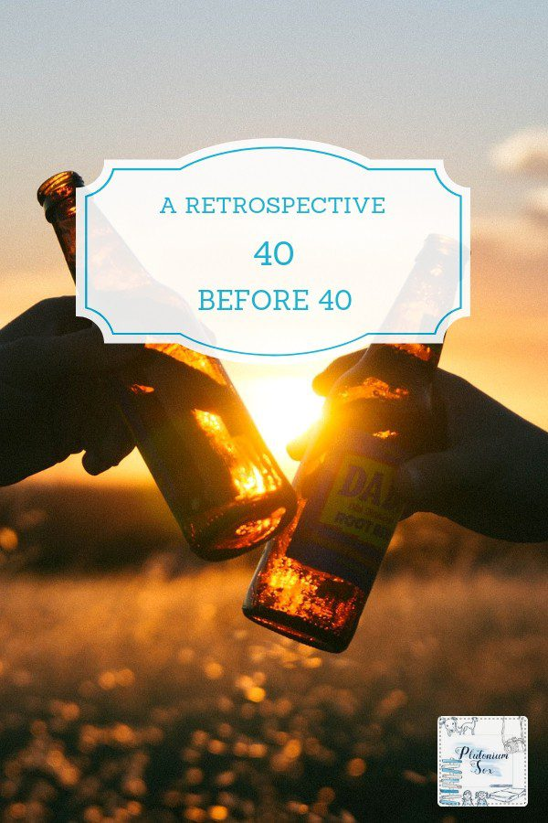 40 before 40 | It is somewhat traditional to write a 40 things before 40 list and diligently tick them off. Here are a few ideas if you're writing your list. And why writing a list of the things I've done has made me feel better about life as a parent to young children. #40before40 #parenting #adventure