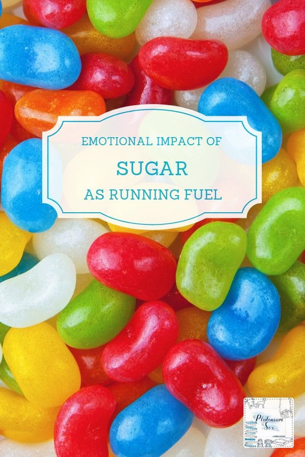 Emotional impact of sugar as running fuel | If you run long distances, you'll be aware of the need to fuel properly during your run. Many experts advise taking sugary energy drinks, bars or sweets. But have you thought about the emotional effect of all the sugar? Could the psychology of being mentally stronger without the sugar highs and lows improve your times? #running #distancerunning #marathontraining #diet #sugar