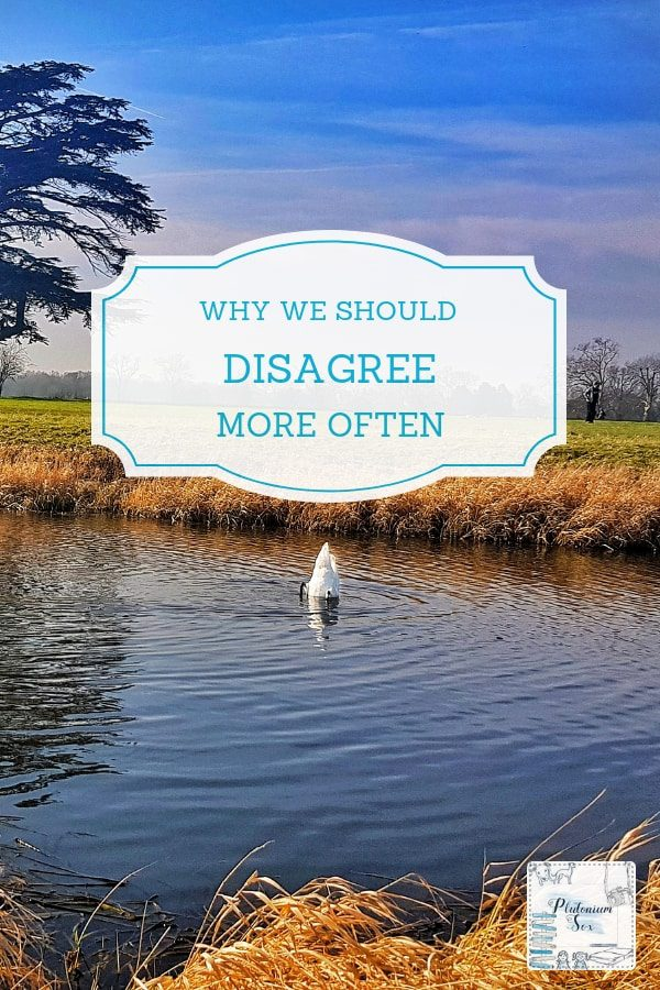 Why it's good to disagree | Most of us avoid confrontation and choose to walk away rather than get into a disagreement with someone, particularly if we respect them. But what if we were to voice our opinions more often, what are the benefits of disagreeing and what would it do to our confidence? #disagreement #disagree #relationships #perspective #communication