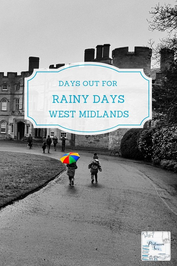 Rainy days out West Midlands | We are not blessed with good weather in the West Midlands so this comprehensive list of days out for rainy days will be useful to anybody living in or visiting the area. This guide covers the West Midlands Region including the West Midlands Metropolitan County, Herefordshire, Worcestershire, Staffordshire, Warwickshire and Shropshire. Indoor activities and days out with both indoor and outdoor areas. #WestMidlands #FamilyFun #WhatsOnWestMidlands #RainyDays #UKTravel