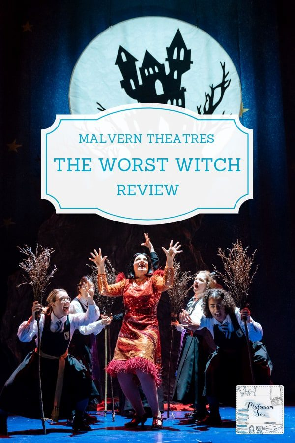 Worst Witch Live at Malvern Theatres | If your child is a fan of the Worst Witch television series or books, they will love the Worst Witch live stage show that is touring in the UK at the moment. Here's our review of the Worst Witch Live at Malvern Theatres. #WorstWitch #theatrereview #malverntheatres #childrenstheatre #familyfun
