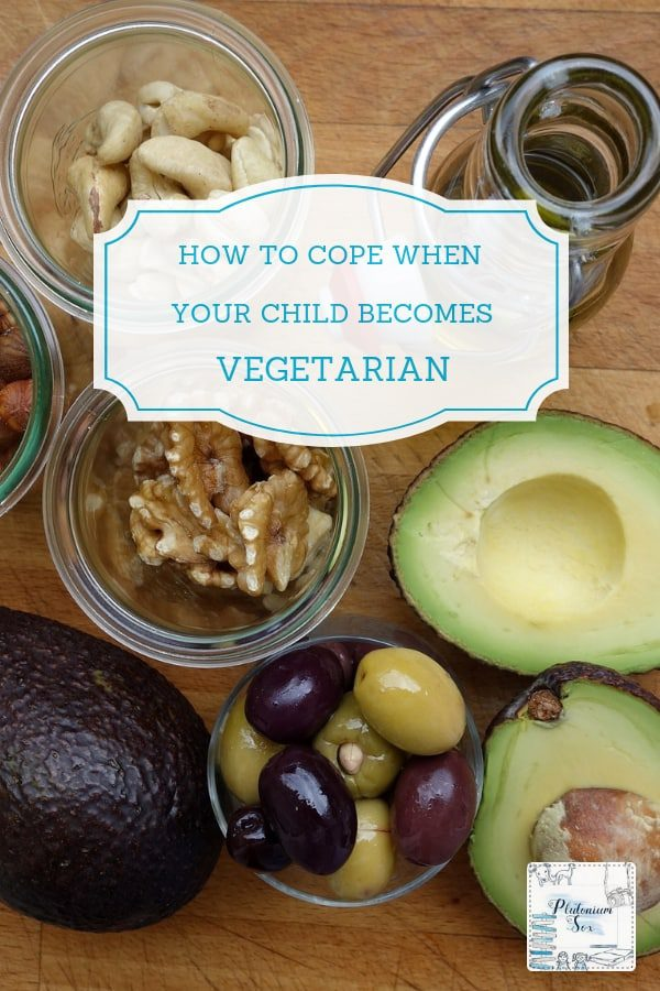 How to cope when your child becomes vegetarian | As a veggie myself, it didn't come as a shock when my six year old announced that she was going to become vegetarian. Here are my tips for ensuring your vegetarian child has a healthy, balanced diet and how to support their decision as a parent. #vegetarian #veggiefood #vegetariankids #veggiekids #healthyeating #eatveggie
