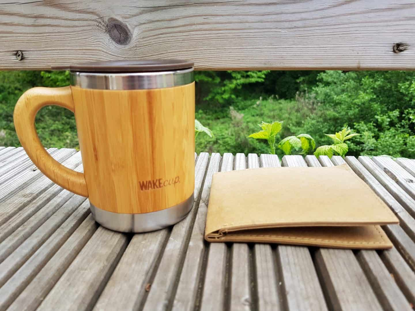 coffee cup and wallet father's day gift