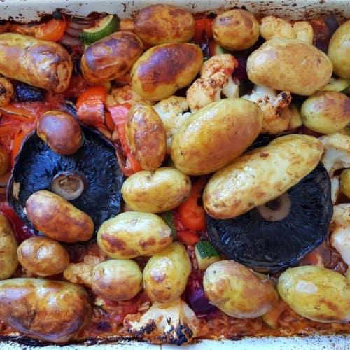 Jersey Royal New Potatoes recipe finished dish