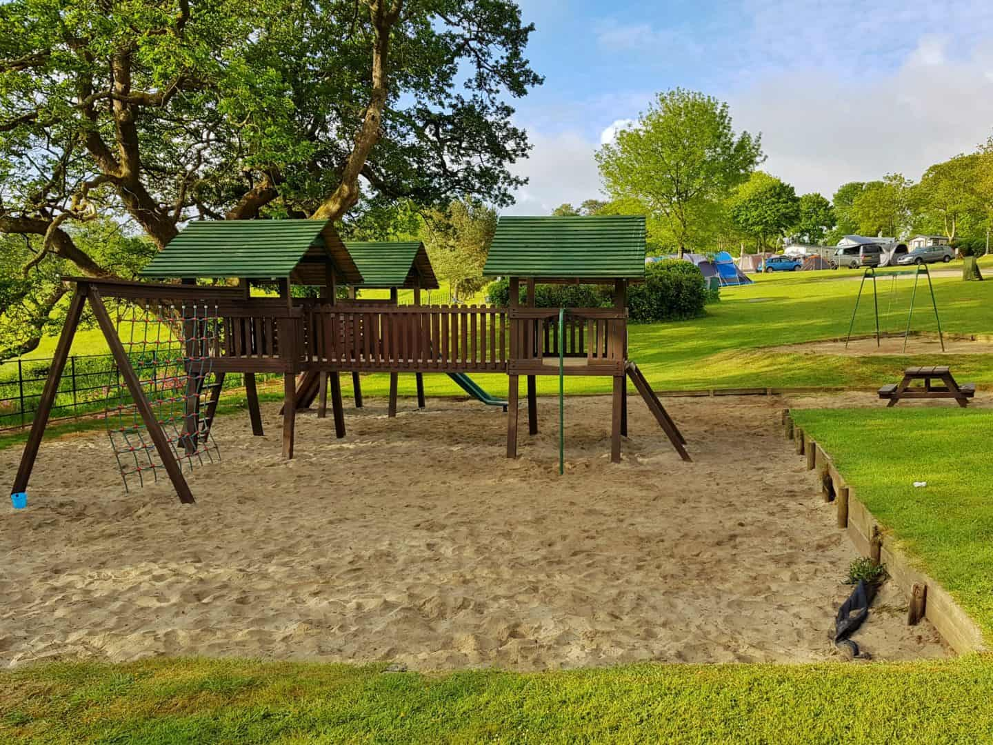 Heligan Campsite playground