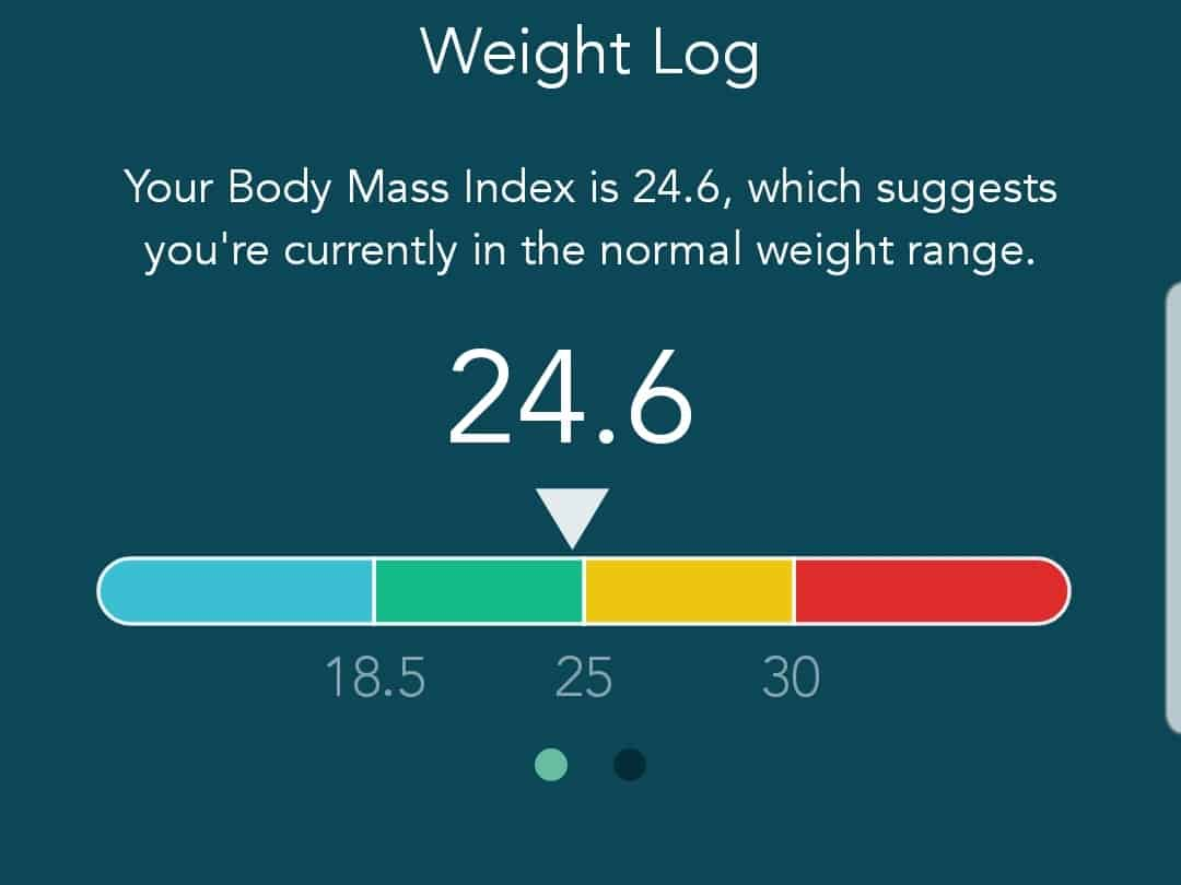 Screenshot from Modius Health app