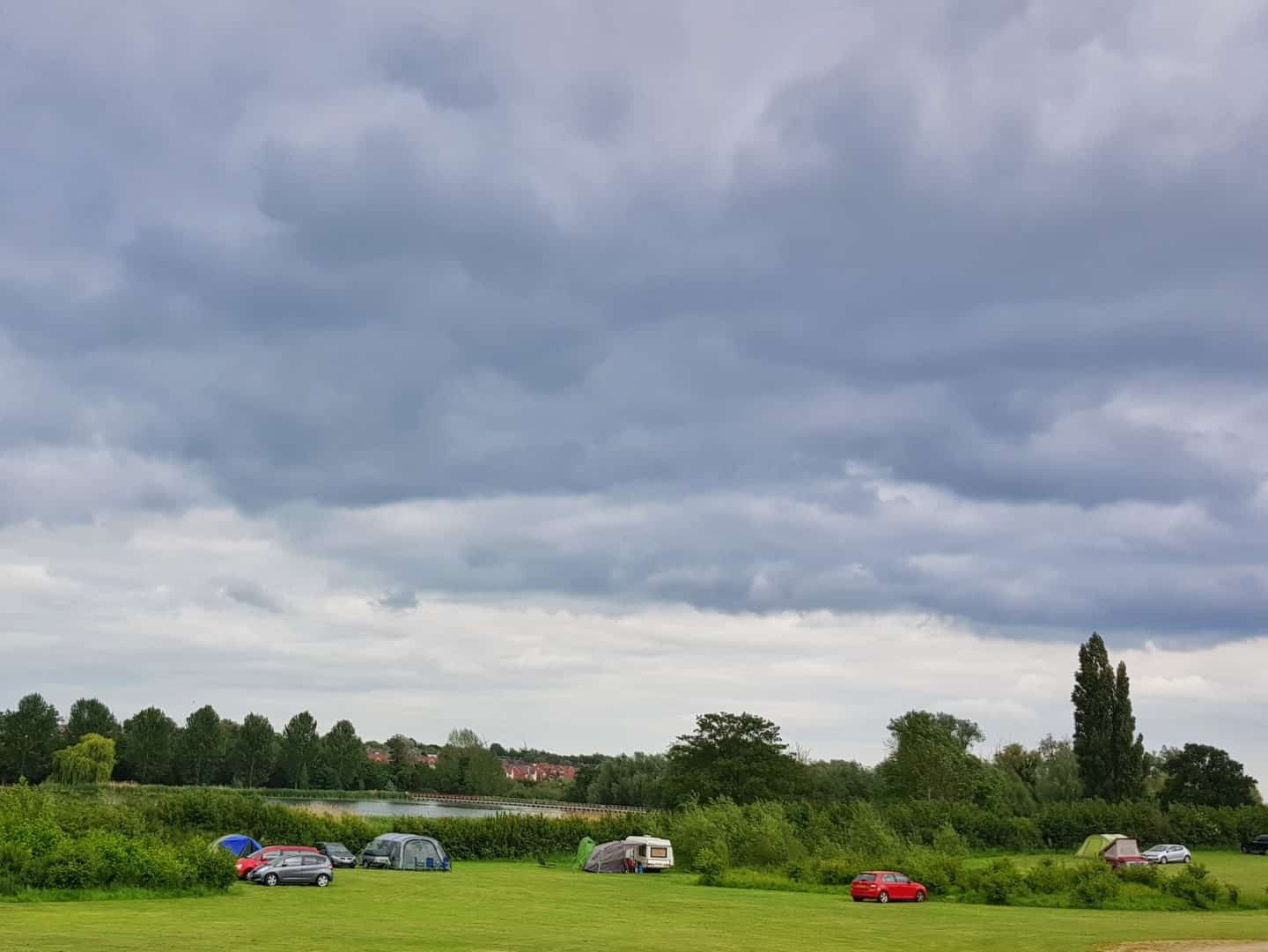 campsite at Wicksteed Park