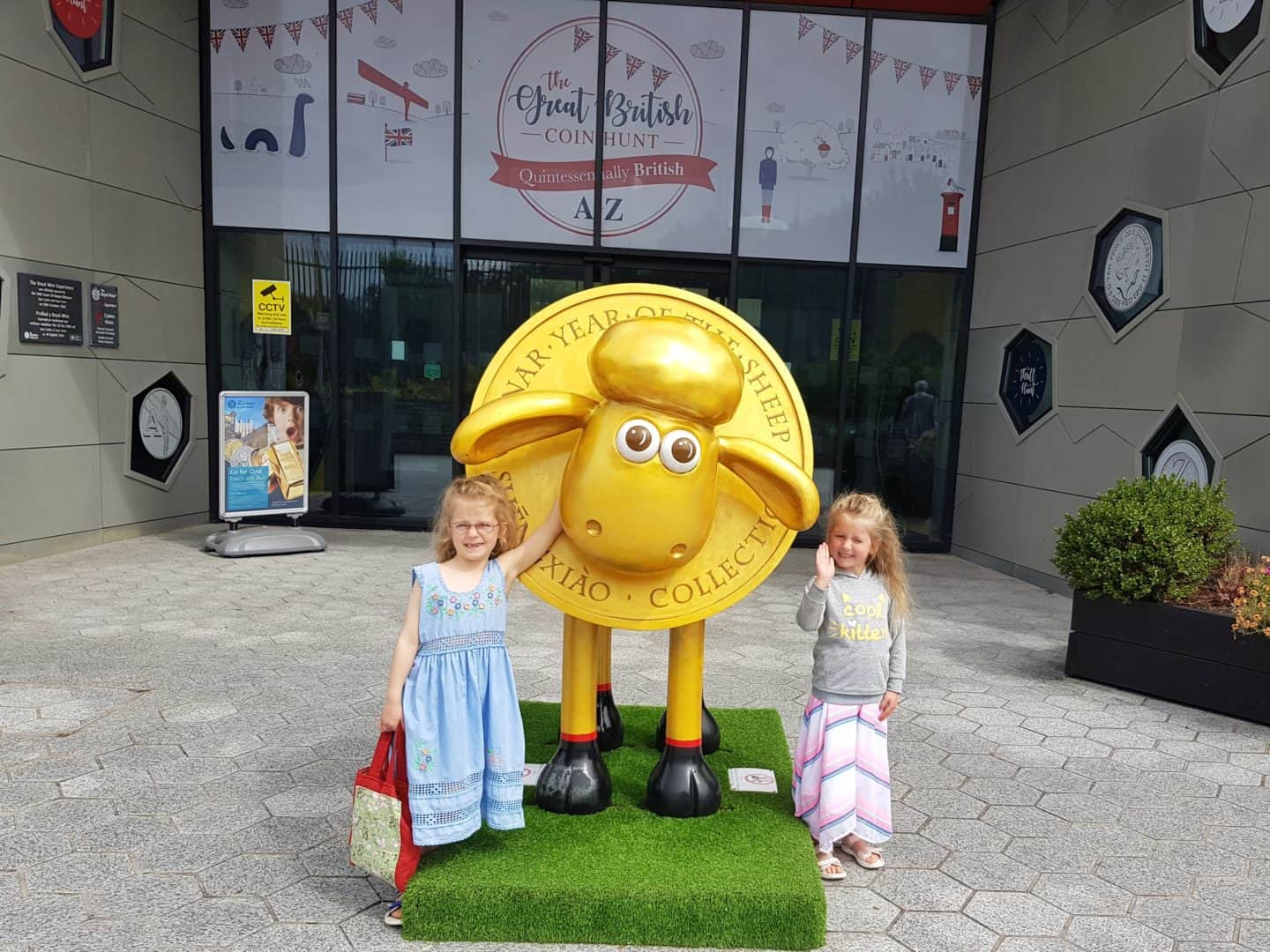 Family day out at the Royal Mint Experience Cardiff