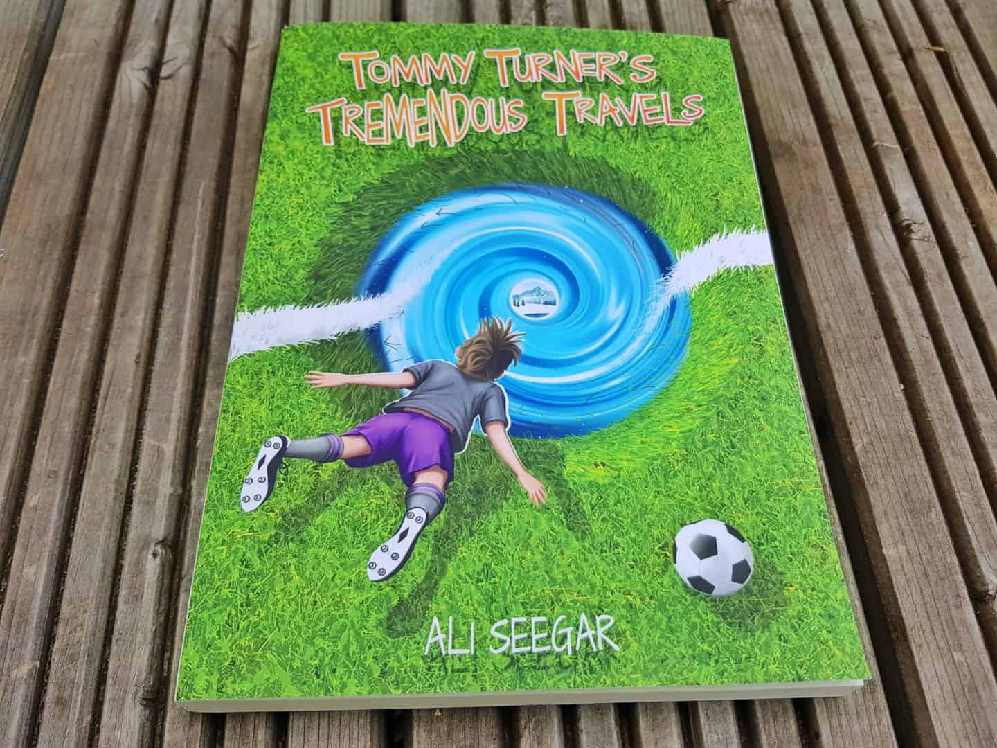 children's book Tommy Turner's Tremendous Travels