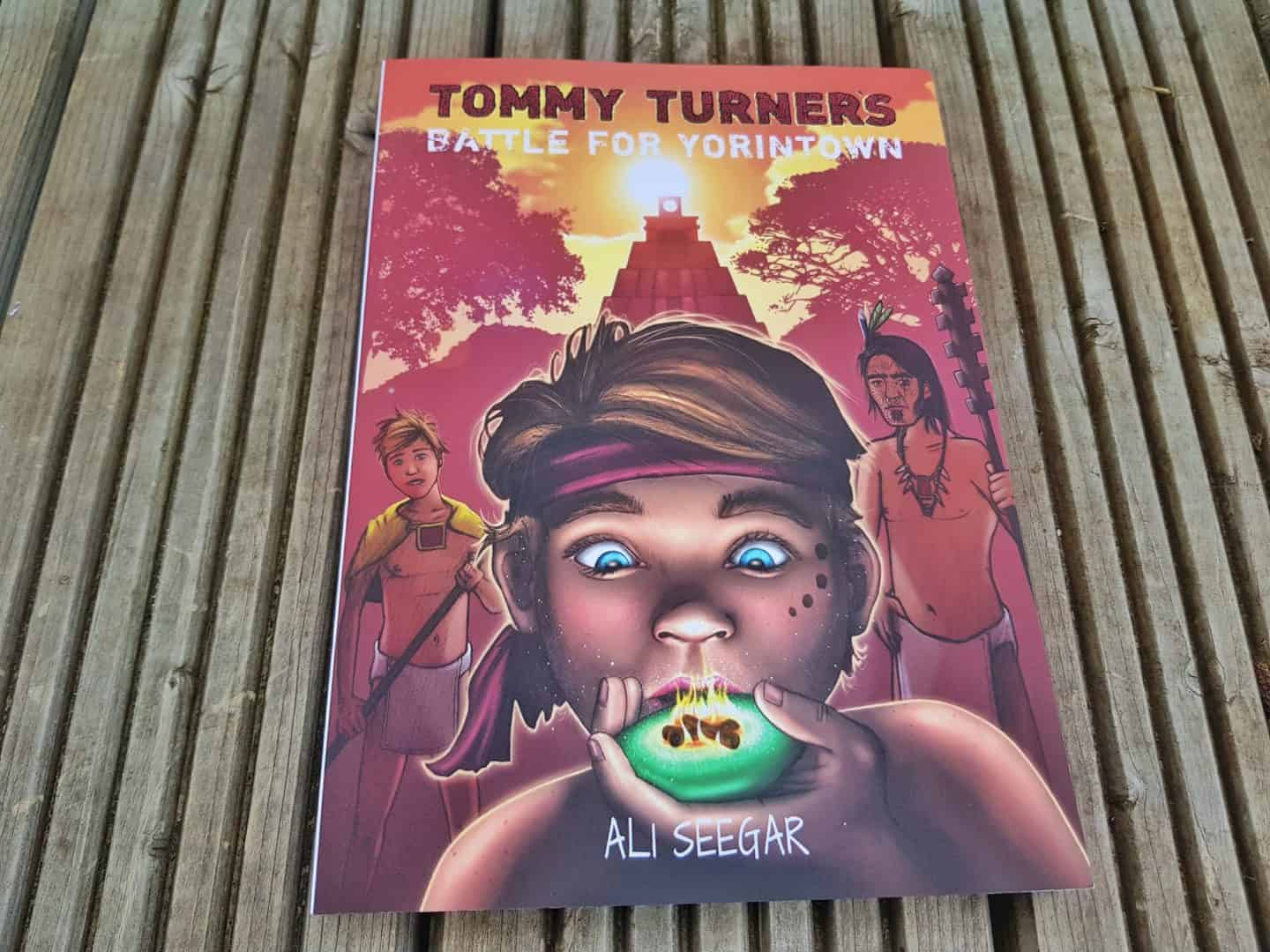 children's book Tommy Turner's Battle for Yorintown