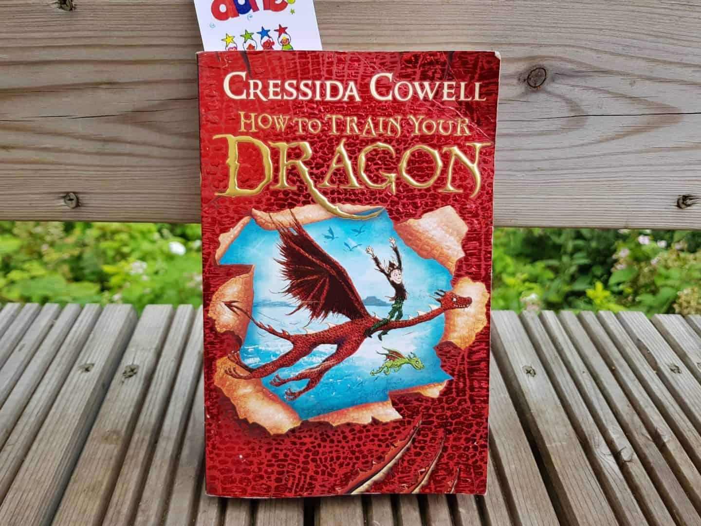 children's book How to Train Your Dragon