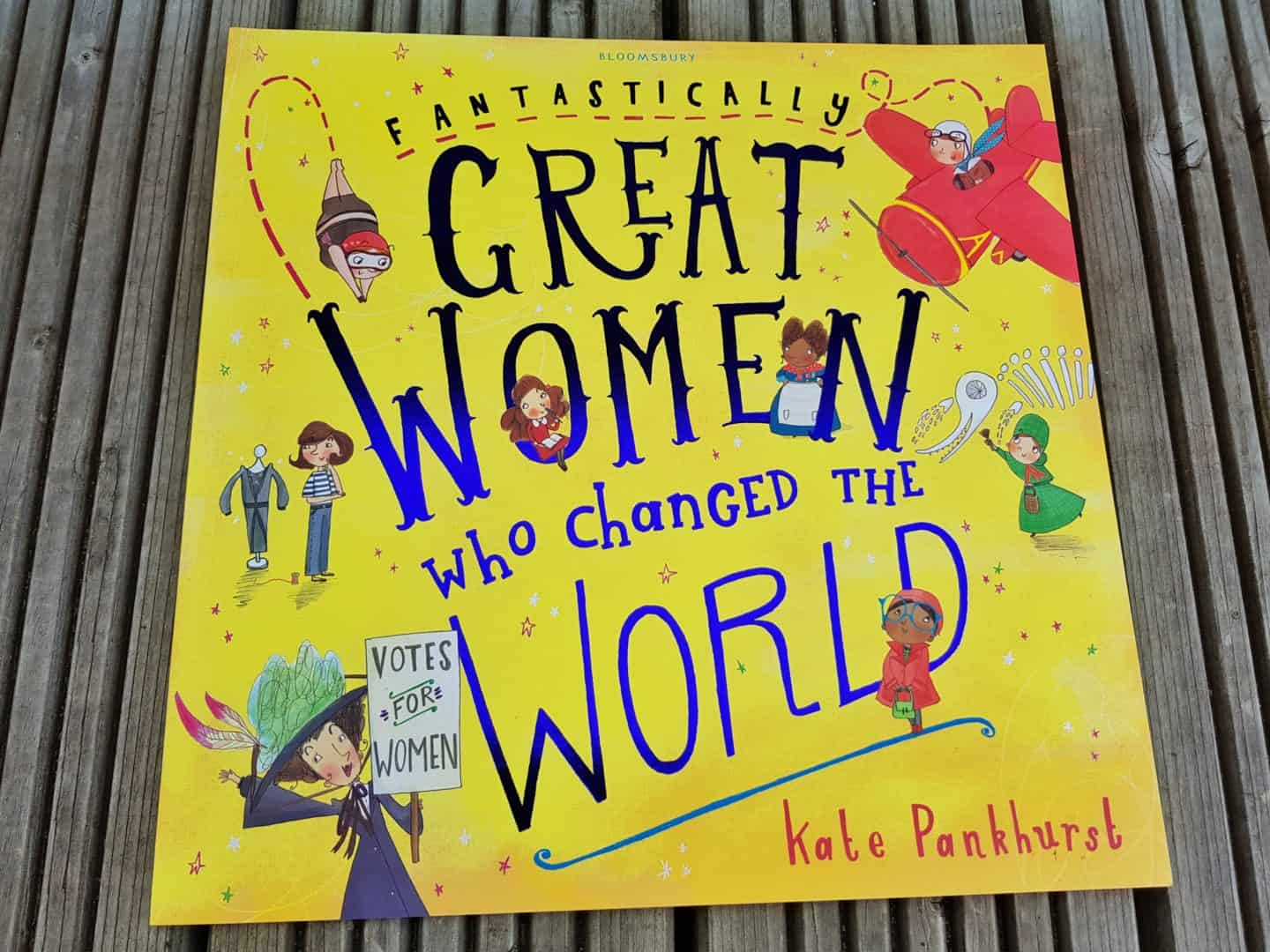 kids book Great Women Who Changed The World