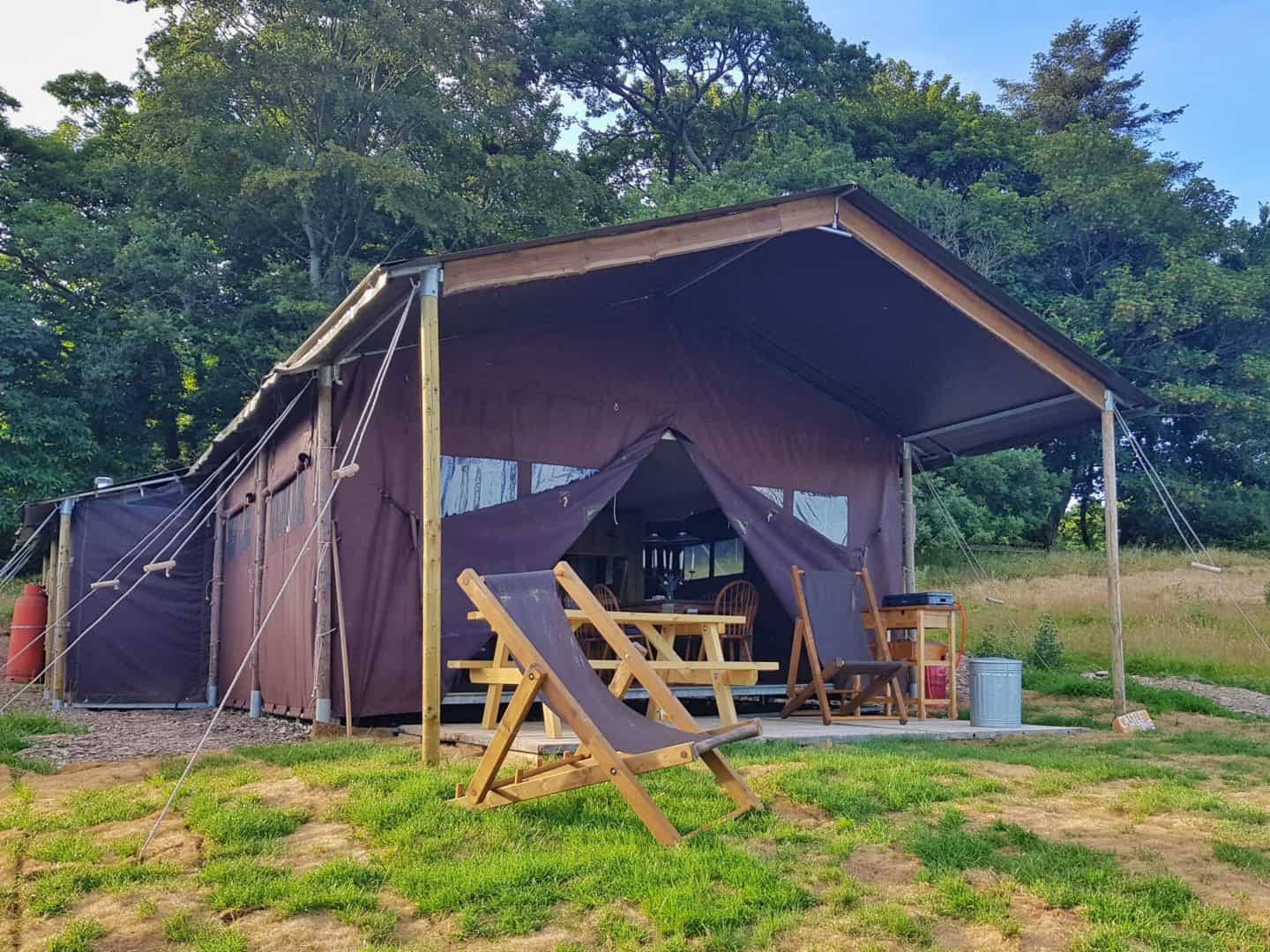 Feather Down glamping tent