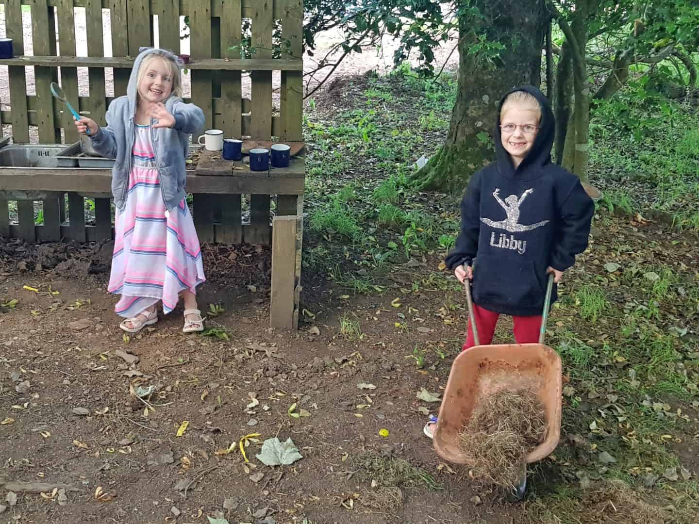Feather Down glamping forest school