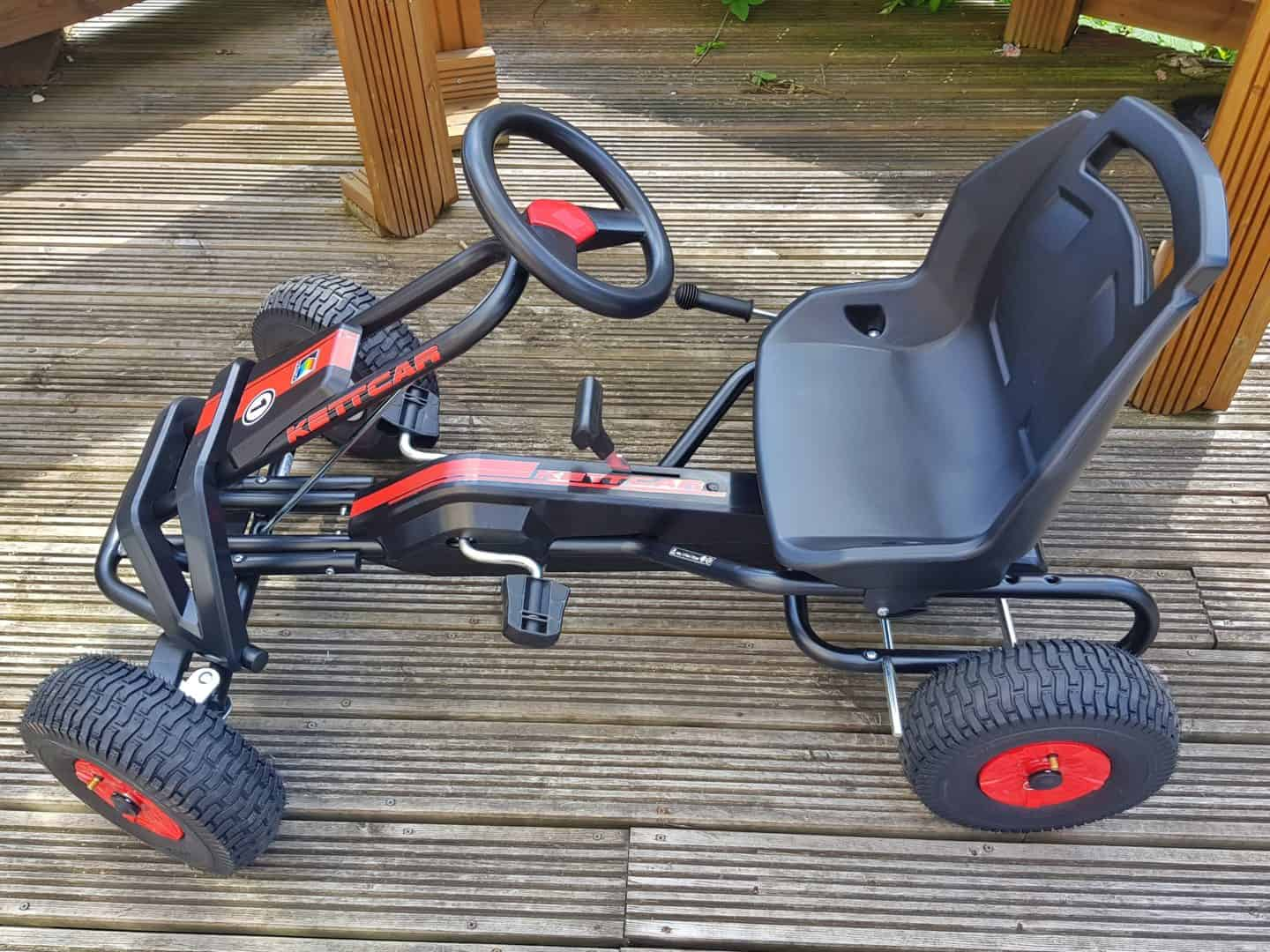 Kettler Barcelona Air Go Kart side view with no rider