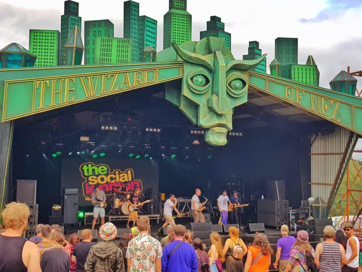 Main Orchard stage at Nozstock