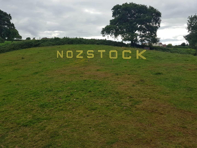 Nozstock hillside sign