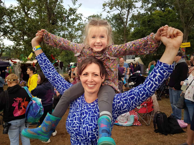 Nozstock 2019 with children: Review