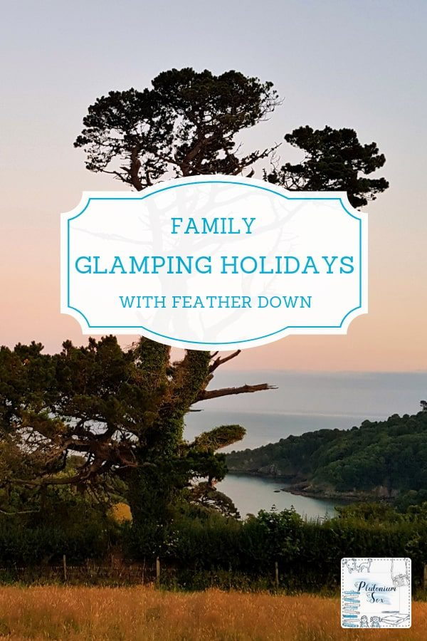 [AD] Family glamping holidays with Feather Down | Review of the Fountain Violet Farm Feather Down glamping location near Dartmouth. Ideal for family travel with activities for children and parents alike. Luxurious accommodation with stunning views down to the sea. #familytravel #uktravel #glamping #luxuriouscamping #featherdown #featherdownglamping #featherdownfarms.
