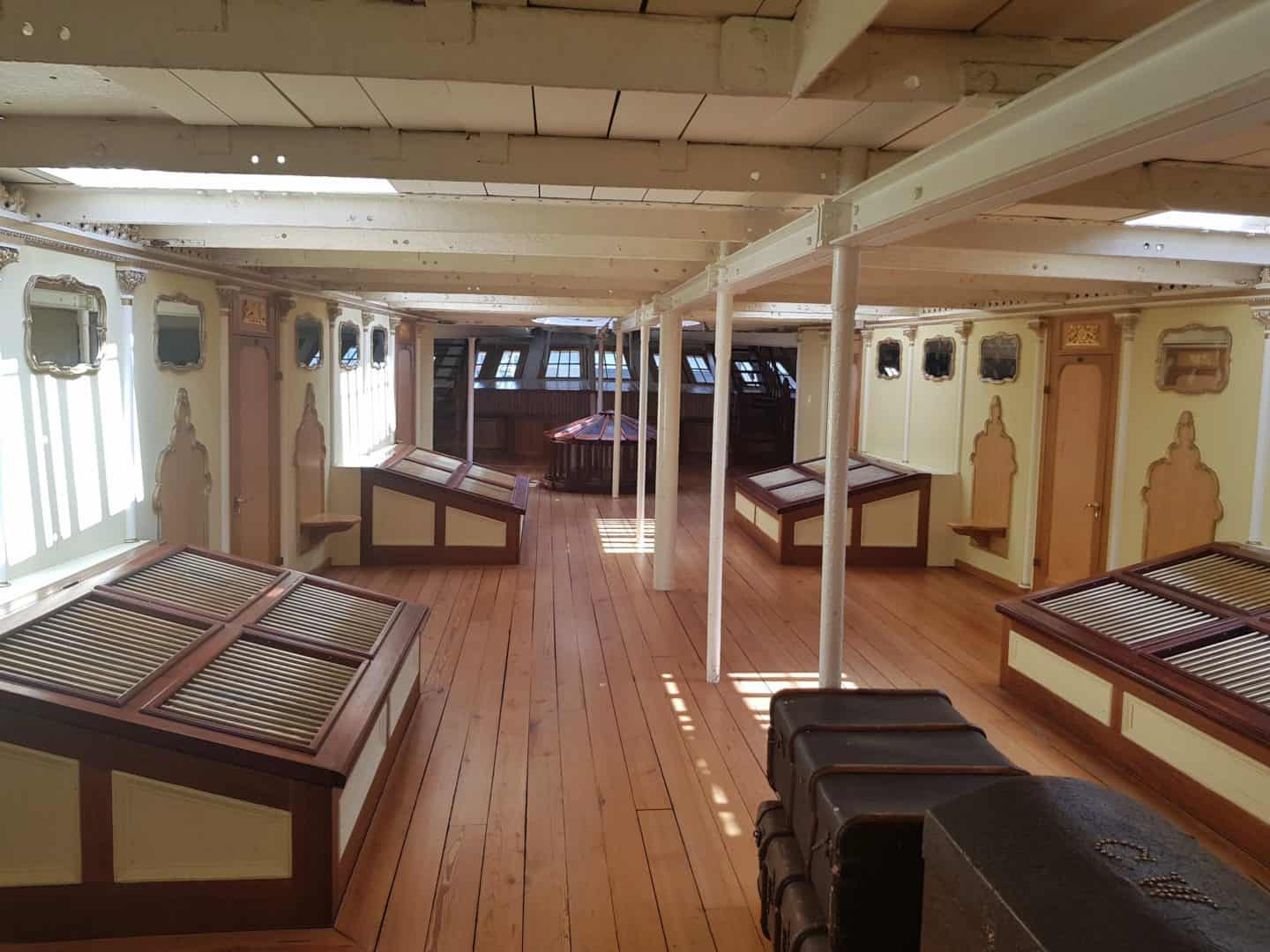 Deck inside SS Great Britain