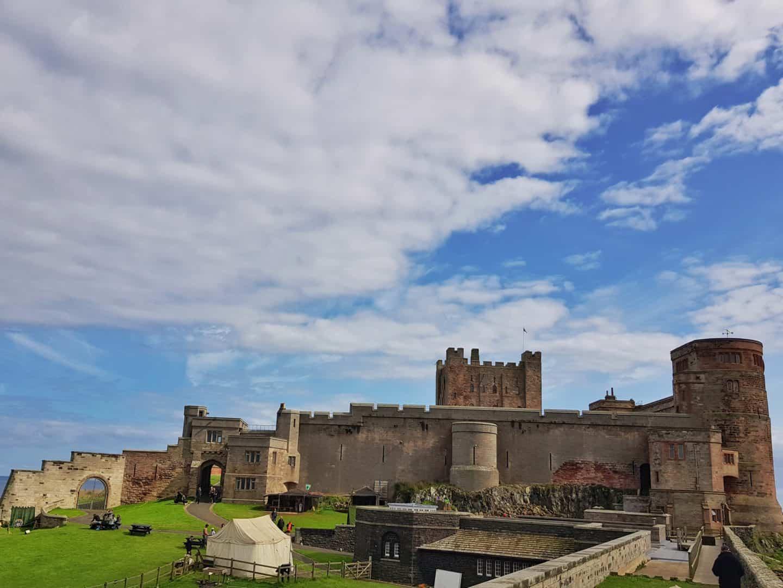 Bamburgh Castle exterior