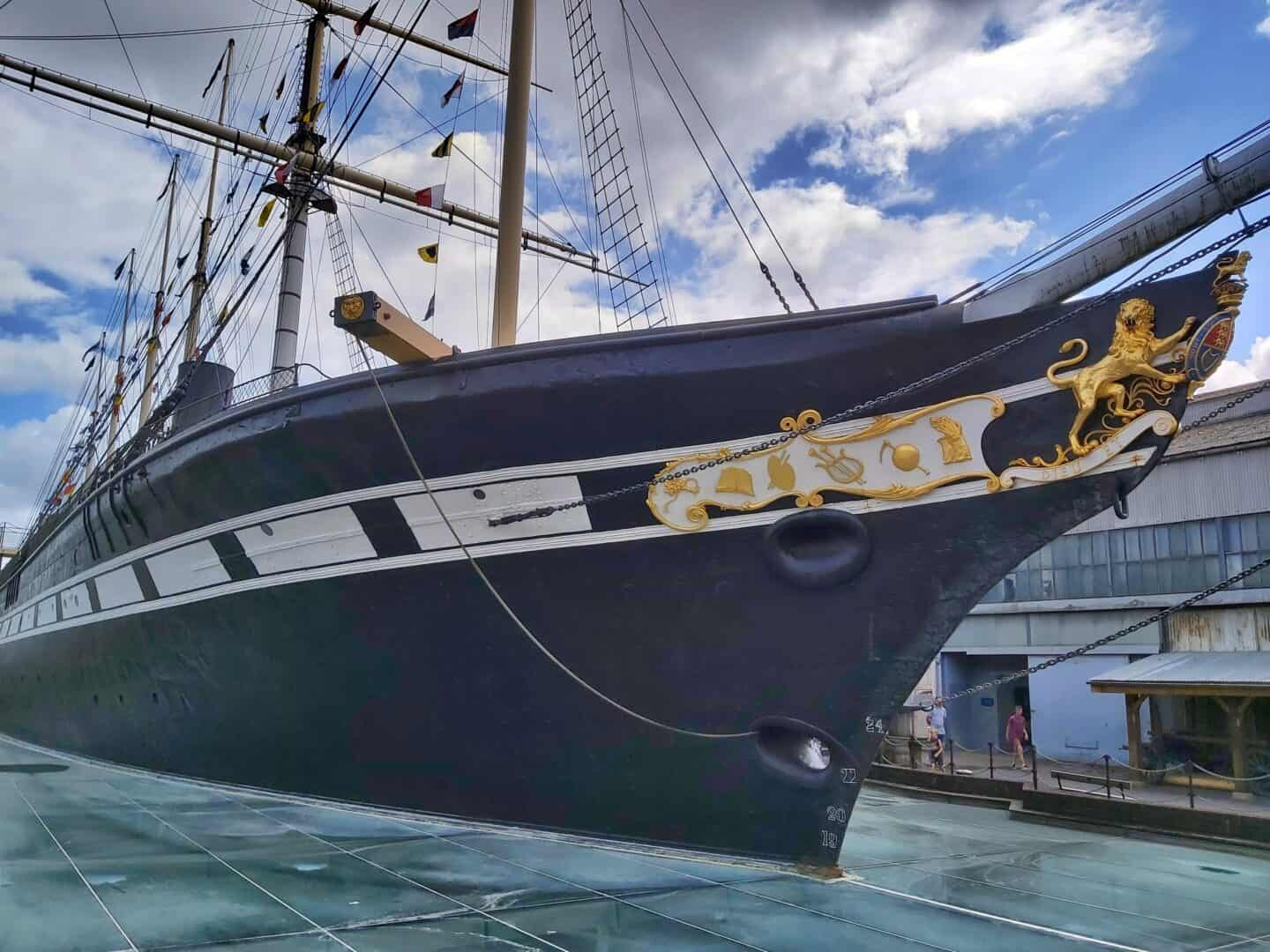 A family day out at the SS Great Britain