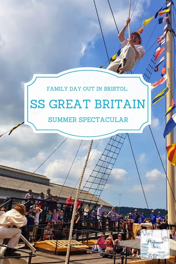 Family day out on the SS Great Britain in Bristol - AD (press trip) | The historic SS Great Britain is in a dry dock in Bristol, England. Visitors including children and families will be entertained by the invisible circus during the summer and all year round, there's plenty to see and do both onboard and in the adjacent museum and dry dock. #daysout #familyfun #Bristol #ukfamilytravel