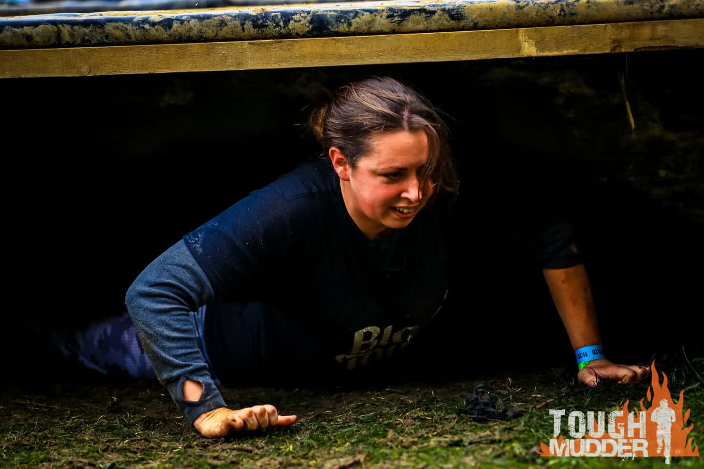 Getting in touch with nature at ground level on Clapham Common for Urban Tough Mudder