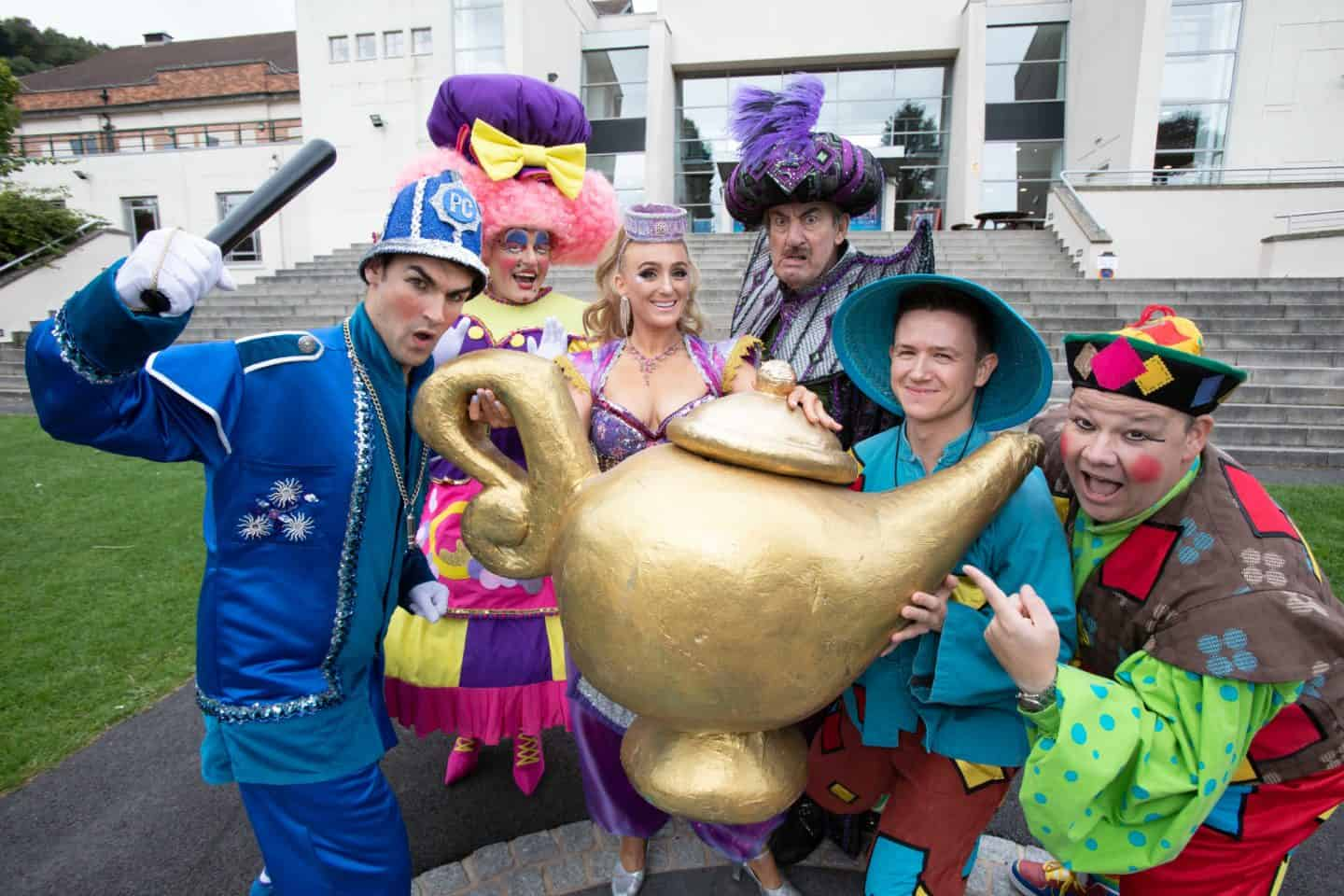 Aladdin Pantomime at Malvern Theatres: Review