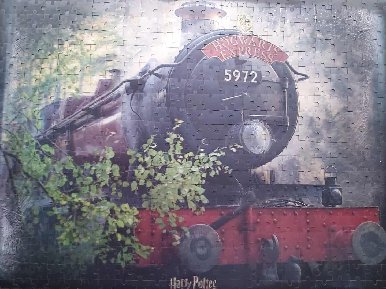 Win a Hogwarts Express 500 piece 3D jigsaw puzzle