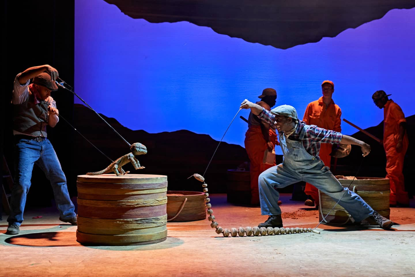 Holes stage show at Malvern Theatres: Review