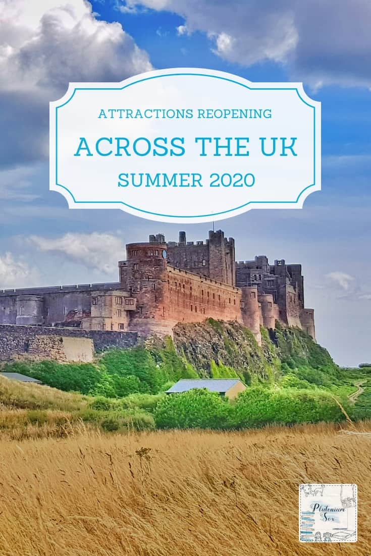 SUMMER 2020 | As things start to reopen following the lockdown, this is a comprehensive post about attractions across the UK that opening in July and August 2020. #familytravel #daysout #uktravel #summer2020 #summerholidays