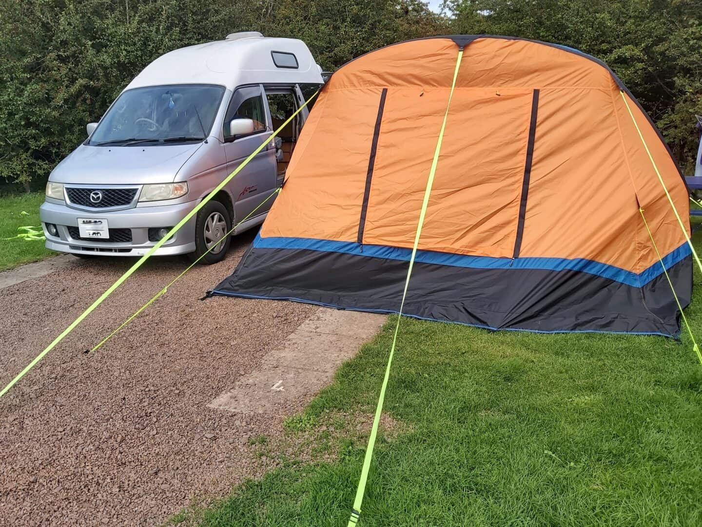 Olpro Cocoon Breeze inflatable drive away campervan awning review [AD]