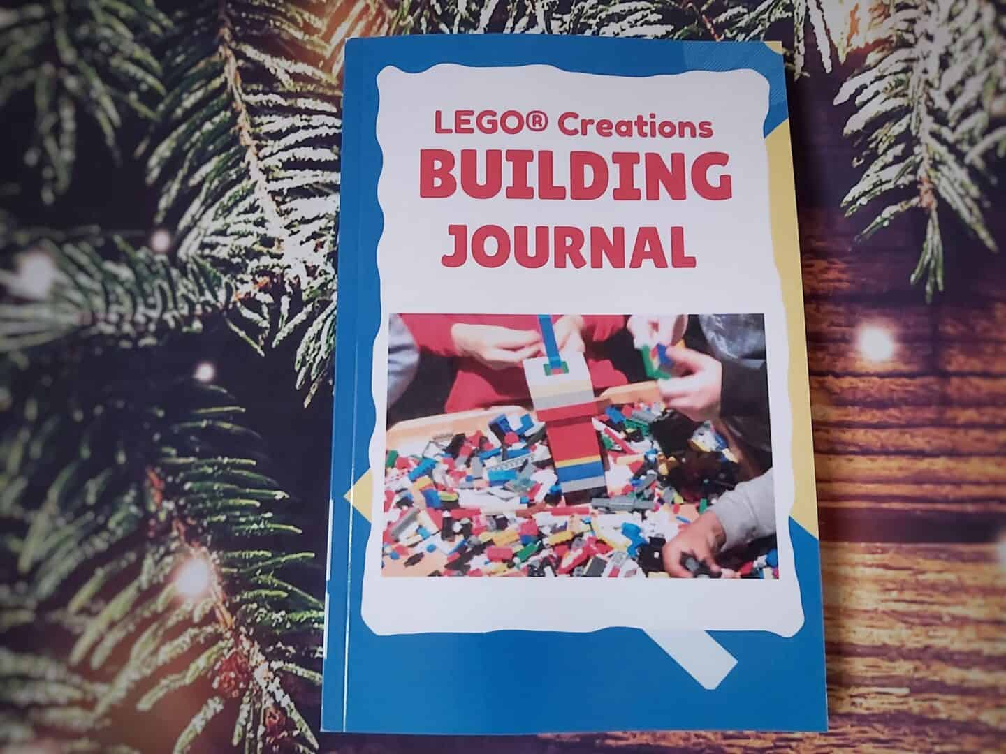 Lego Creations Building Journal - an alternative something to read for the four gift rule