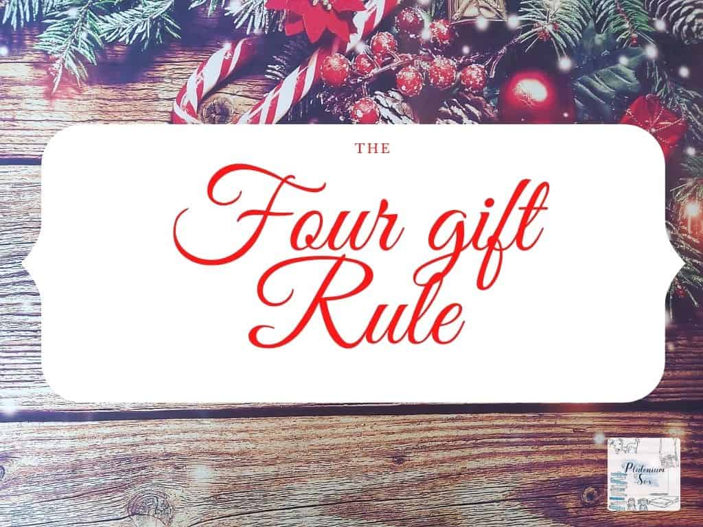 The 4 gift rule: Four things for Christmas