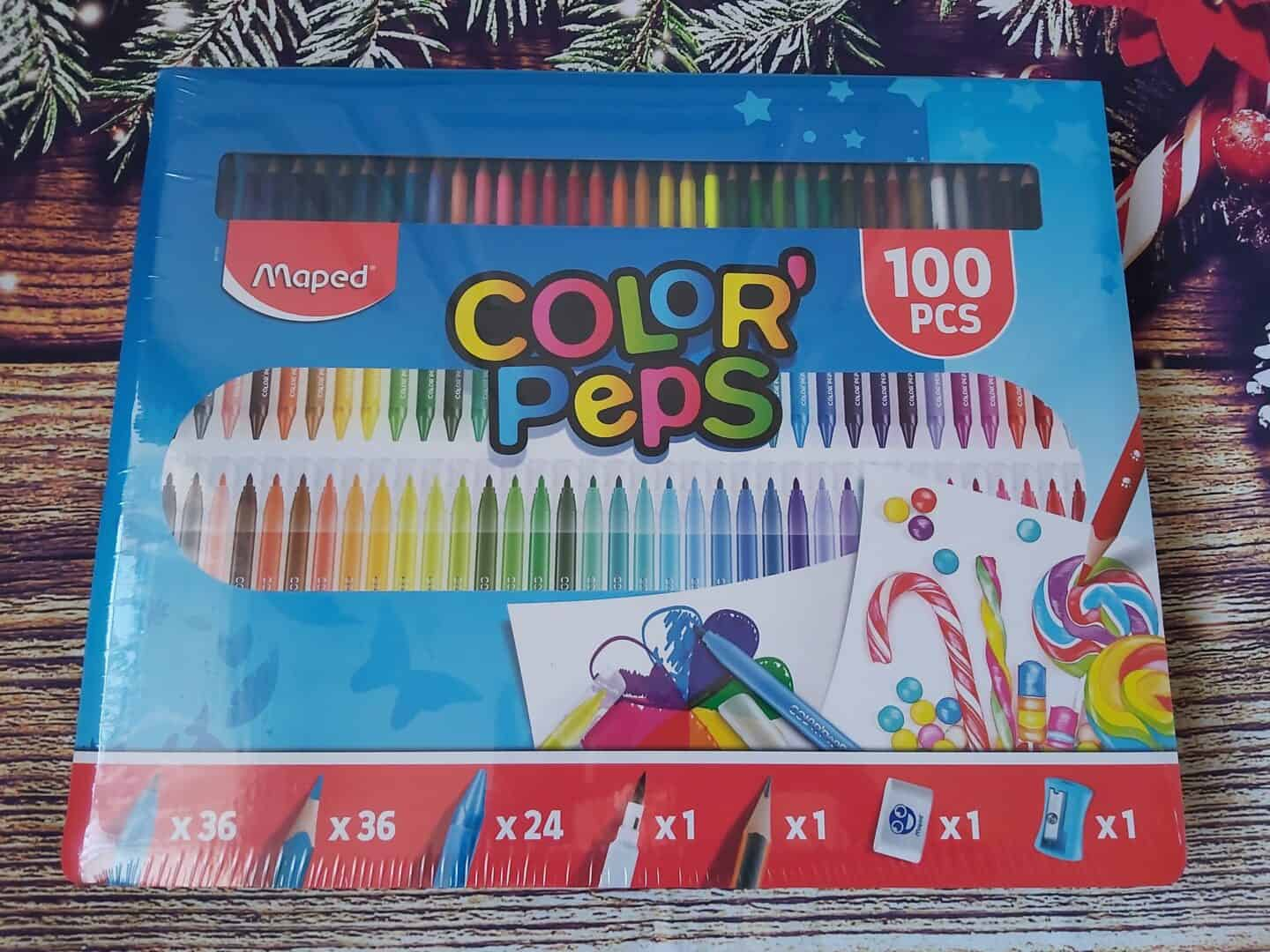 100 piece colouring set